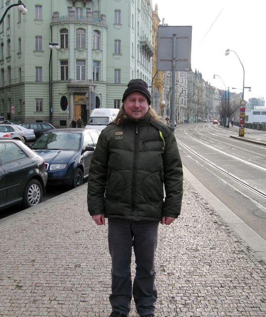 Me in Prague November 2007