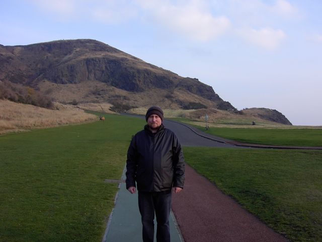 Me in Edinburgh
