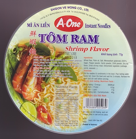 Tom Ram Shrimp
